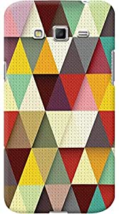 Kasemantra Triangle Colors Case For Samsung Galaxy Grand 2