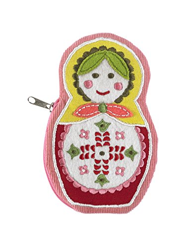 ORE Originals Zippee Coin Pouch, Matryoshka Doll