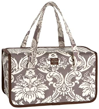 Emilie Sloan Abby Train Case,Silver Stone,one size