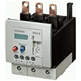 Siemens 3RU1146-4KB0 Thermal Overload Relay, for Induction Motors with a rating of 37kW. 1 NO and 1 NC auxiliary contacts. Delayed overload release 57-75A.