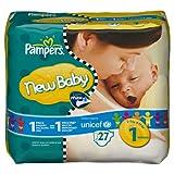"""Pampers New Baby Windeln Gr.1 Newborn 2-5 kg Tragepackung, 27 St�ckvon """"Pampers"""""""
