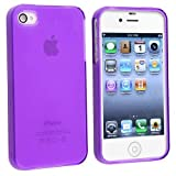 TPU Rubber Skin Case Cover for Apple® iPhone® 4 4S AT&T / Verizon / Sprint (!A4)