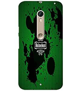 PrintDhaba Logo D-5517 Back Case Cover for MOTOROLA MOTO X PURE EDITION (Multi-Coloured)