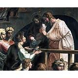 The Death of Ananias, detail, by Raphael (V&A Custom Print)