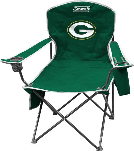 NFL Packers Cooler Quad Chair (Green Bay Packers Quad Chair compare prices)