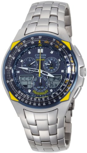 Citizen Men's Eco-Drive Blue Angels Skyhawk Watch #JR3090-58L