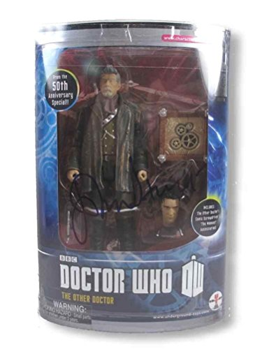John Hurt Doctor Who Autographed Signed Action Figure Certified Aftal