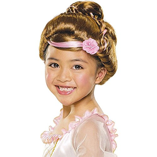 Child Sophisticated Princess Brown Wig - 1