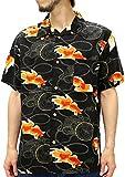 (スタイルバイオリジナルス) Style by Originals POWER JEANS VALUE アロハシャツ 半袖 シャツ レーヨン ハイビスカス 10color M 柄B