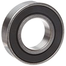 "MRC 5202SBKZZ Ball Bearing, Double Sealed, No Snap Ring, Metric 15 millimeters ID, 35 millimeters OD, 5/8"" Width, 12000 rpm Max RPM, 1530 pounds Static Load Capacity, 2560 pounds Dynamic Load Capacity"