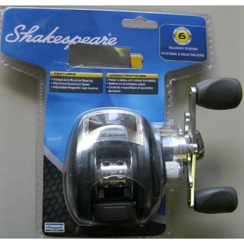 Amazon.com : SHAKESPEARE Sigma Baitcasting Reel Model SIGMABCB NEW
