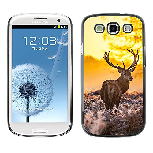 Omega Case Strong & Slim Polycarbonate Cover - Samsung Galaxy S3 Iii I9300 ( Majestic Morning Stag )