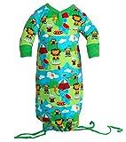 jny Colourful Kids-bebé Chica Joven strampel Saco de dormir Lion Circus en algodón orgánico Talla:50/56