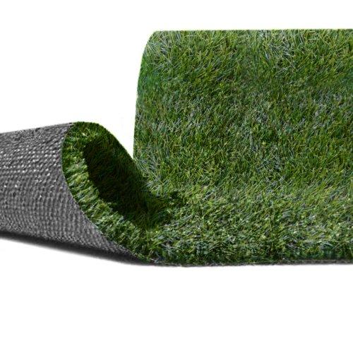 Prato sintetico 30mm calpestabile finta erba tappeto giardino per esterno 2x15mt 12088 - Erba finta per giardino ...