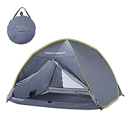 Campers collection one-touch cabin shaded by feeding back grey CCS-6SUV (GY)