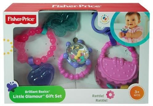 DDI 1471907 Fisher-Price Brilliant Basics Little Glamour Gift Set - 1