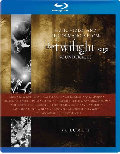 Music Videos and Performances from The Twilight Saga Soundtracks, Vol. 1 [Blu-ray]