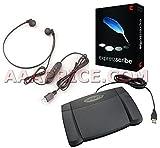 Express Scribe Pro Transcription Kit with USB Foot Pedal & USB Transcription Headset