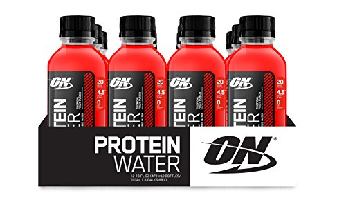Optimum Nutrition Protein Water, Tropical Fruit Punch, 12 Count (Protein Water Drinks compare prices)