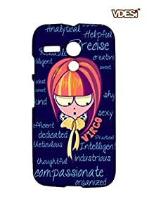 VDESI Sun Sign Virgo Back Cover For Motorola Moto G (X1032)-11540124