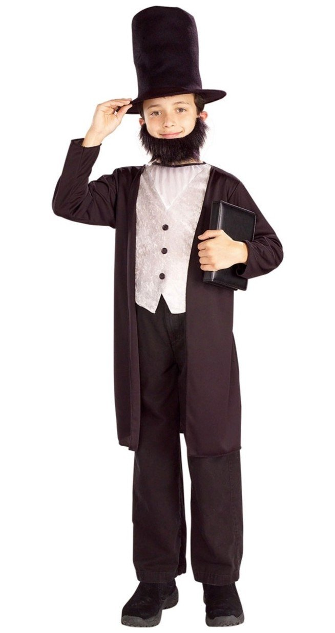 Abraham Lincoln Hat & Beard | Fun Family Crafts
