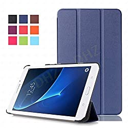 Tab A 7.0 Case - DHZ Blue Ultra Slim Lightweight Standing Cover for Samsung Galaxy Tab A 7.0 7-inch Tablet 2016 Release (SM-T280 / SM-T285)