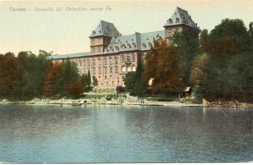 1910 Vintage Postcard Castello del Valentino