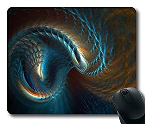 """1 X Fractal Custom Rectangle Mouse Pad Oblong Gaming Mousepad in 220mm*180mm*3mm (9""""*7"""") -913012"""