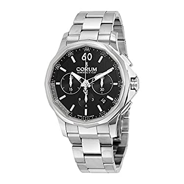 Corum Admiral's Cup Legend 42 Automatic Chronograph Steel Mens Watch Calendar 984.101.20/V705 AN10