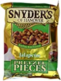 Synders Jalapeno Pretzel Pieces 125 g (Pack of 10)