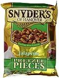 Snyder's Jalapeno Pretzel Pieces 125g - 10 pack
