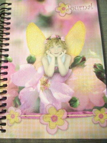 Flitterbyes Journal ~ Female Child Resting with Glittered Wings - 1