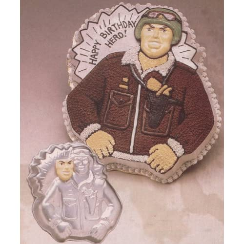 Amazon.com: Wilton G.I. Joe Military Soldier Cake Pan