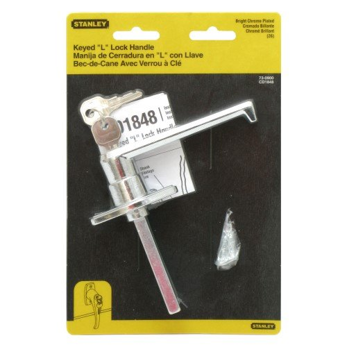 STANLEY HARDWARE 730900 Keyed Cylinder/L-Handle Lock (Overhead Doors Handles compare prices)