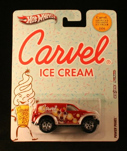 POWER PANEL * CARVEL ICE CREAM * Hot Wheels 2012 Nostalgia Series 1:64 Scale Die-Cast Vehicle