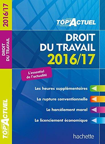 top-actuel-droit-du-travail-2016-2017