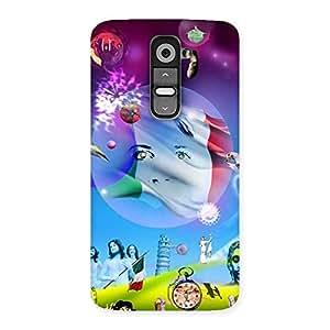 Wonder World Back Case Cover for LG G2
