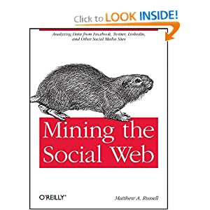 Mining the Social Web: Analyzing Data from Facebook, Twitter, LinkedIn, and Other Social Media Sites [Paperback]