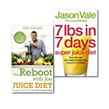Jason Vale The Juice Diet Collection Books Set Lose weight get healthy and feel amazing,(The Reboot with Joe Juice Diet - Lose weight, get healthy and feel amazing: As seen in the hit film 'Fat, Sick & Nearly Dead' & 7lbs in 7 Days Super Juice Diet)