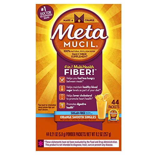 Metamucil multi health fiber by meta orange smooth sugar free powder