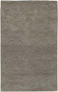 Amazon.com - 9' x 13' Tonos Tierra Slate Gray Hand Woven New Zealand