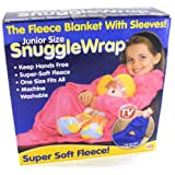 Kids snuggle wrap blanket with sleeves - Pink