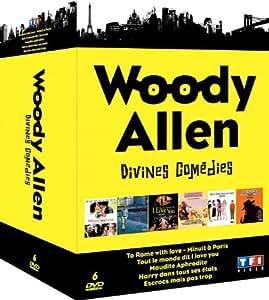 Woody Allen - Divines comédies - Minuit à Paris + Tout le monde dit I Love You + Maudite Aphrodite + Harry dans tous ses états + Escrocs mais pas trop + To Rome With Love