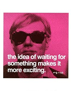 Waiting Art Poster Print by Andy Warhol, 11x14
