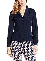 Nife Camisa Mujer (Azul Marino)