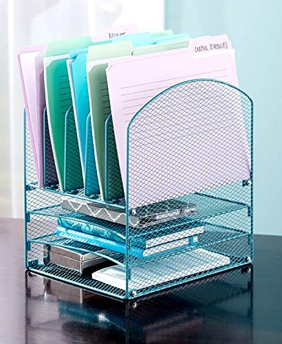 File Organizer (Teal) (Teal Office Supplies compare prices)