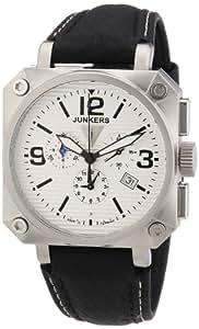 Junkers Herren-Armbanduhr XL Chronograph Quarz Leder 6790-1