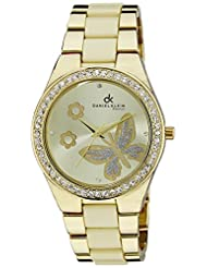 Daniel Klein Analog Gold Dial Women's Watch - DK10539-7