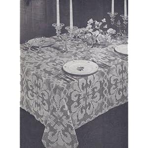 Crochet patterns - crochet tablecloths