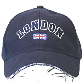 London England Embroidered Baseball Cap